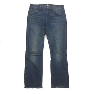 7 for All Mankind Relaxed Skinny Stretch Jeans 25